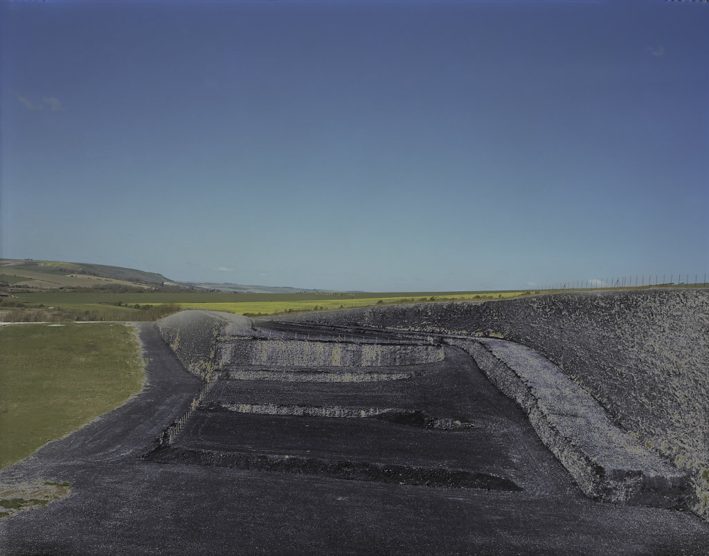 Field of Vision I - Tarring Neville Chalk Quarry, Sussex, C-Type Hand Printed 40 x 31in / 102 x 79 cm (Edition of 30)